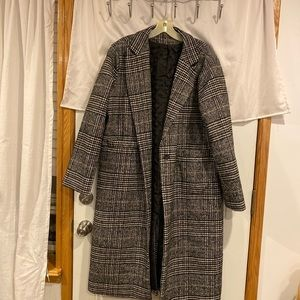 Jackets & Blazers - Plaid Coat
